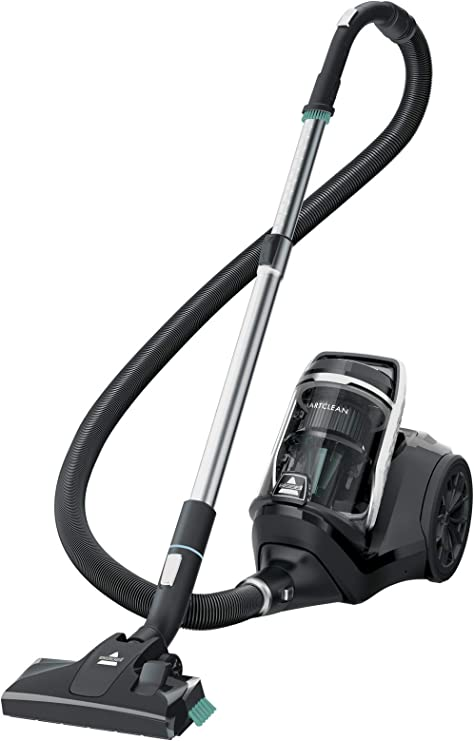 Bissell 2274N SmartClean Canister Vacuum Cleaner, bagless, with Integrated Dust Brush, Crevice Tool and 12 m Radius, 720W, 720 W, 79 Decibelios, Otro: Amazon.es: Hogar