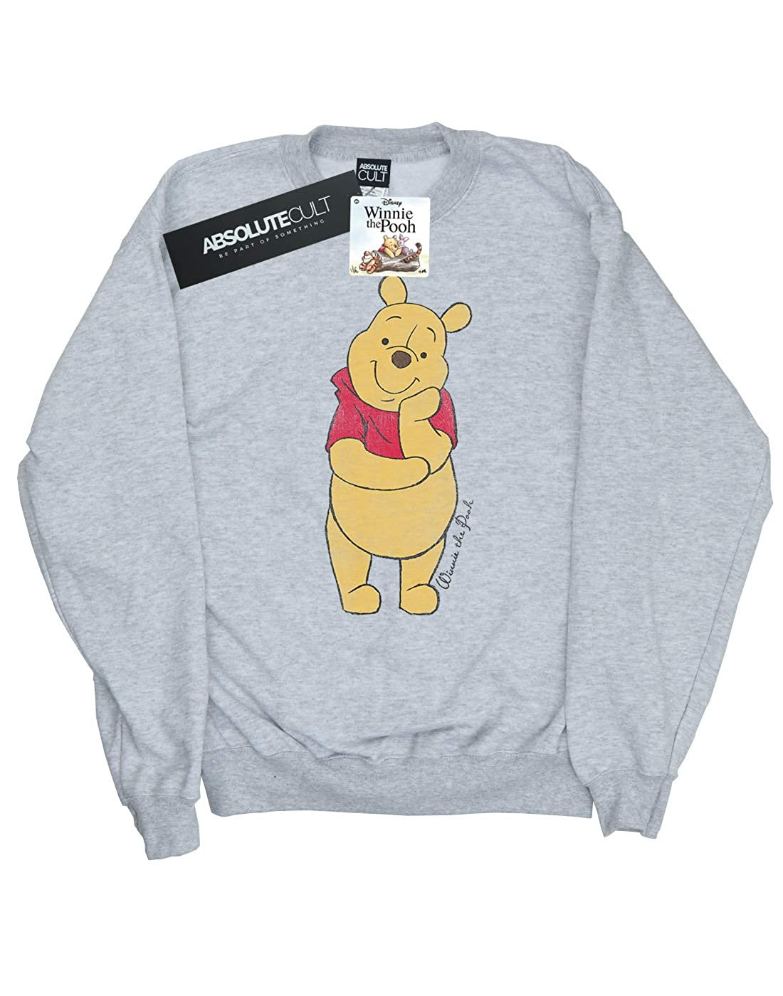 Amazon.com  Disney Women s Classic Winnie The Pooh Sweatshirt  Clothing ec721ac33