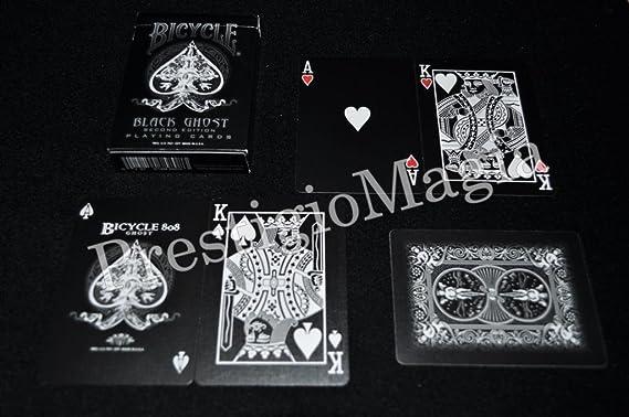 Carte Bicycle Black Ghost by Ellusionist: Amazon.es: Juguetes y juegos