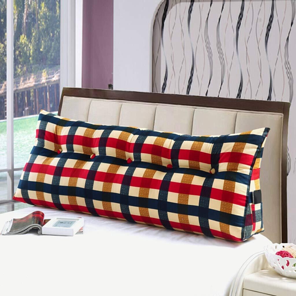 【最安値挑戦】 ベッドクッション 枕 ダブルベッド やわらか畳裏 やわらか畳裏 ベッドの上の大きな三角クッション 枕 ソファベルト (色 : B, B サイズ さいず : 180cm) B07RJHDGT2 60cm|B B 60cm, SHANKARA:9fc5557d --- parada.tv