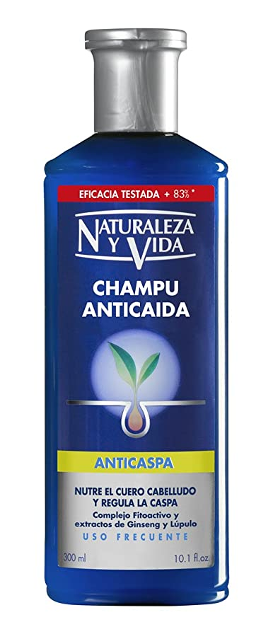 Champu anticaida y anticaspa