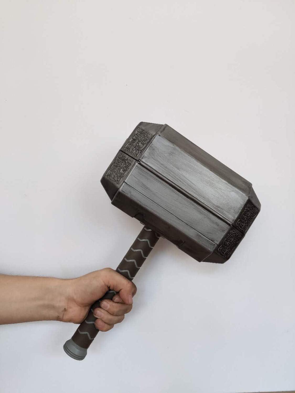 Thor Hammer caja de herramientas, juego de de martillo Thor, kit de herramientas de martillo Mjolnir, juego de herramientas de martillo Thor con Kit de reparación de herramientas manuales: Amazon.es: Bricolaje y