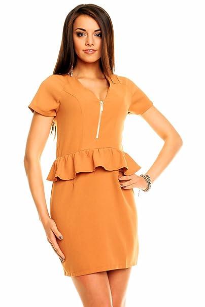 Online Shopping Arcade - Vestido de novia - Básico - Mujer Marrón marrón claro 36