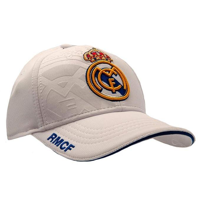 Amazon.com: Gorra Real Madrid CF color blanco, talla única ...