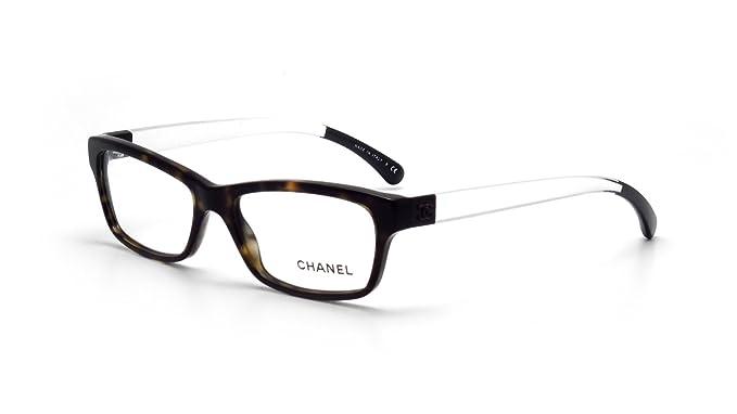 739f2565bc Chanel - Montura de gafas - para mujer marrón Tortuga: Amazon.es: Ropa y  accesorios