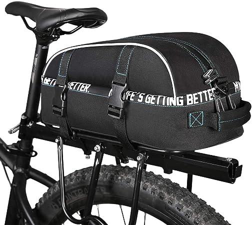 PORTAEQUIPAJES Bolsa Alforja Trasera Bicicleta, Bolsa de Bicicleta ...