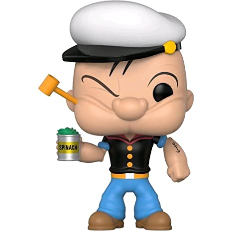 eb7bc73aaab Amazon.com  Funko Pop Popeye Vinyl Action Figure Specialty Series  Exclusive  Toys   Games