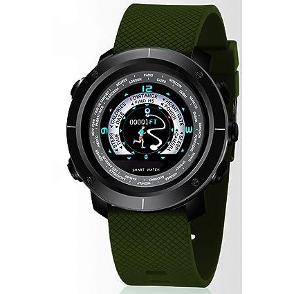 Amazon.com: YUHEJUNJING Smart Sports Watch Mens Heart Rate ...