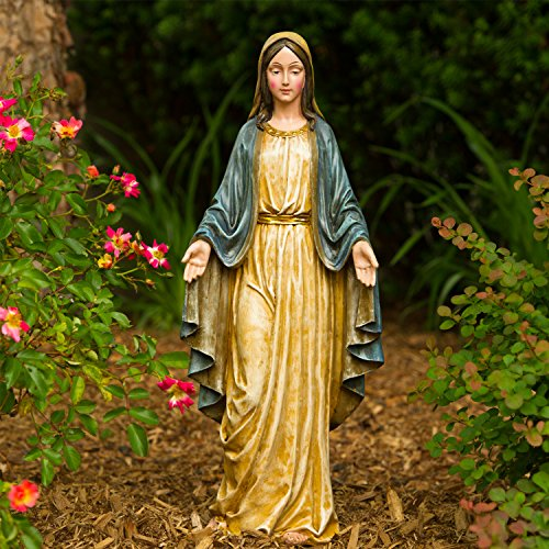 Fun Express Virgin Mary Blessed Mother Garden Lawn Statue