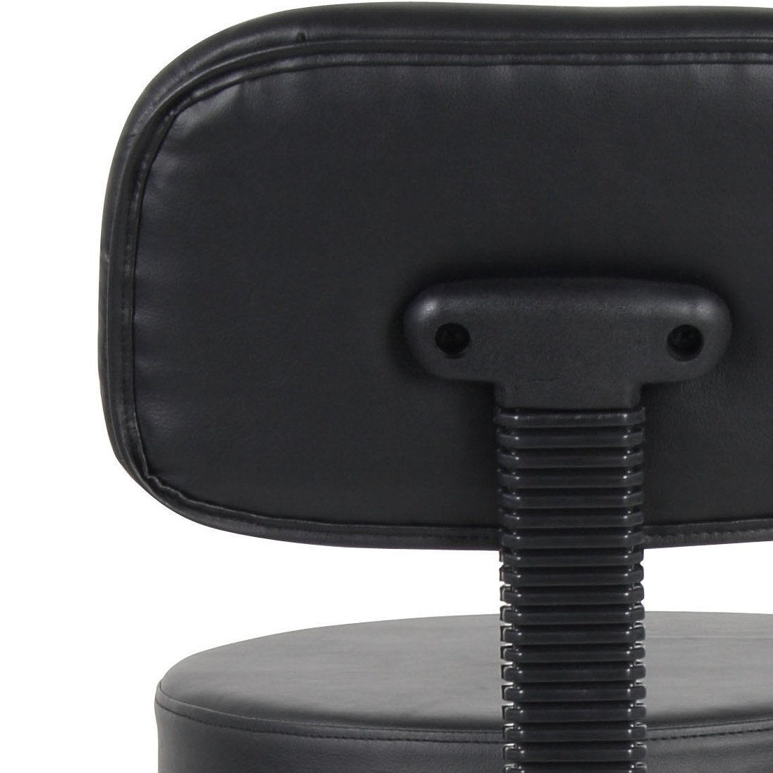 Boss Office Products B16245-BK Be Well Medical Spa Drafting Stool with Back,  Black by Boss Office Products (Image #9)