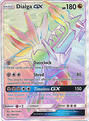 (Dialga GX - 164/156 - Secret Rare - Sun & Moon: Ultra Prism)