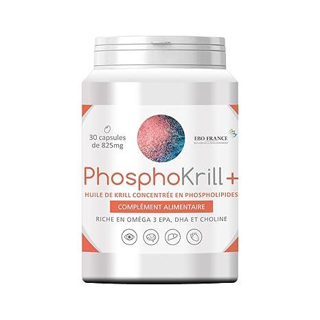 Aceite de Krill phosphokrill + concentrée en phospholipides Superba Boost – Vision, cerebro, hígado