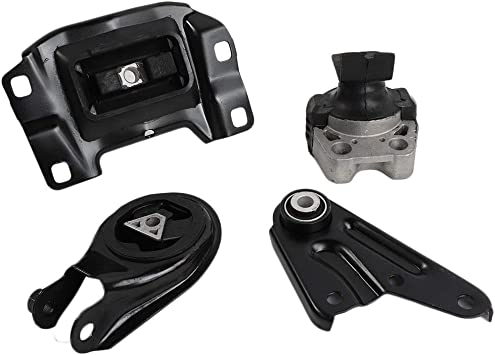 4pcs Engine /& Transmission Mount for Auto Trans Compatible for 04-09 Mazda 3 2.3L w//o Turbo Replace # A4403 A4404 A4405 A4418