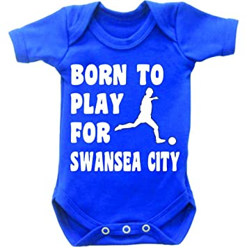 FUNNY FOOTBALL ANY TEAM PERSONALISED NOVELTY BABY GROW VEST SUIT BABIES CLOTHING