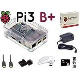 Pi3B+ スターター キット V2 RS透明 16GB