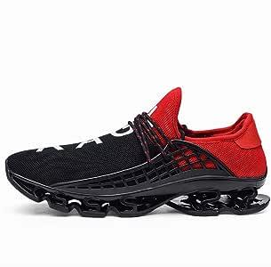 Alivier Zapatillas de Deporte para Hombre Que Caminan Zapatillas ...