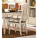 Homelegance Ohana Two Tone Dining Chairs With Geometric