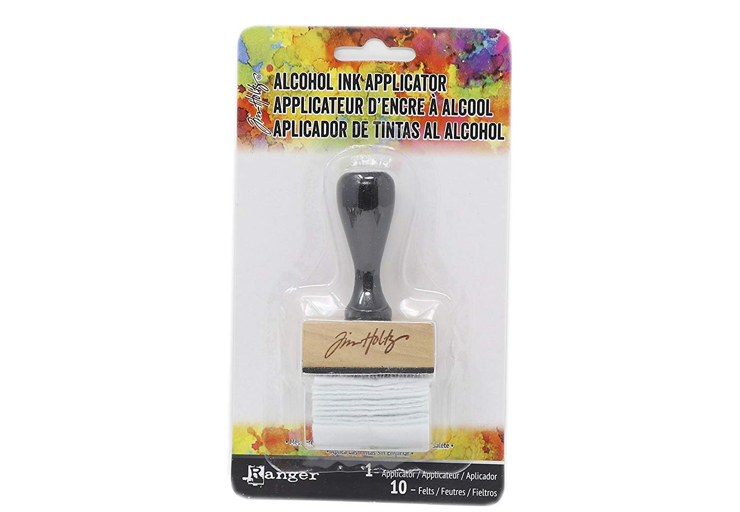 Ink Tool Set Pixiss Blending Tools Set Tim Holtz Alcohol Ink Accessory Bundle 50x Applicator Felt Replacements Translucent Yupo Paper Ink Card Stock Alcohol Ink Palette Alcohol Ink Applicator