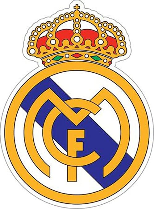 Real Madrid logo XXL pegatinas de pared adhesivo decorativo Fútbol ...