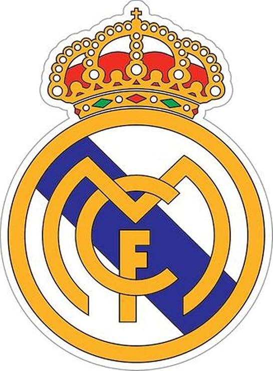 Real Madrid logo XXL pegatinas de pared adhesivo decorativo Fútbol ...