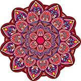DeStudio 'Rangoli Pattern' Floor Sticker (PVC Vinyl, 60 cm x 60 cm, DS-11509-4)