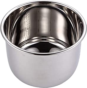 8Qt Power Cooker XL Replacement Inner Pot Stainless Steel Compatible with 8 Quart Power Pressure Cooker Model PPC772 (or #PPC772), PPC780 (or #PPC780), and WAL3 Stainless Steel Inner Pot Parts