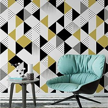 Sproud Stereoskopischen 3D Wandbild Tapeten Tv Kulisse Malerei Wohnzimmer Schlafzimmer  Moderne Einfache Geometrische Muster