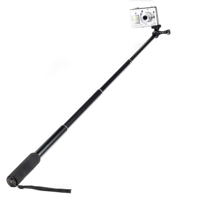 1//4 Selfie-Stick erweiterbarer Einstellbar Erweiterung Einbeinstativ F/ür GoPro Akaso Crosstour Campark Fitfort Garmin VIRB Apeman Sony Camkong Motorola Victure Kitvision Und Kompaktkamera