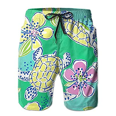 New OPDDBB Concise Sea Turtle Board Shorts Swimwear Shorts With Pockets For Men supplier