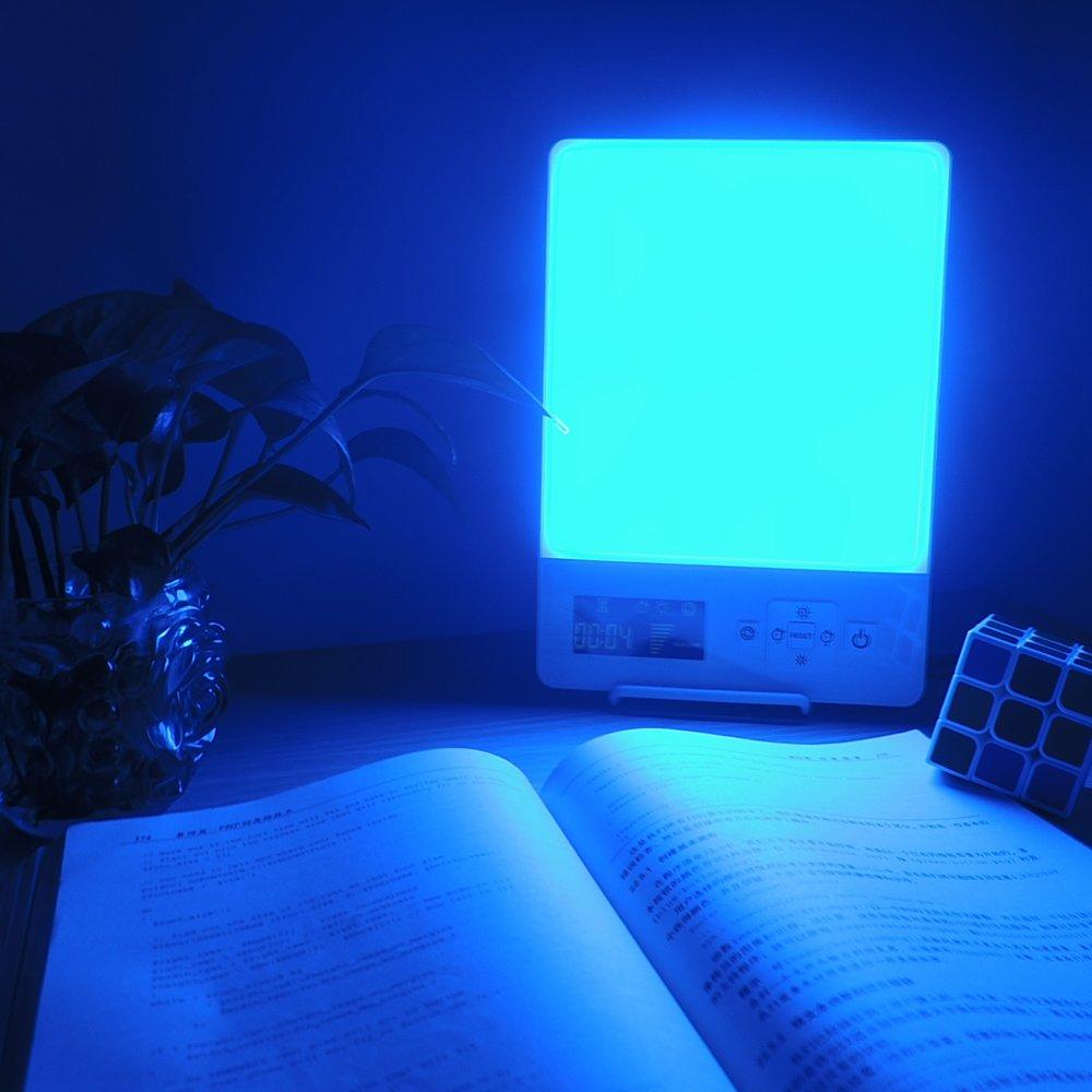 EnjoyNaturalSunLifeC Seasonal Affective Disorder Energy Light Lamp For Sad Depression With Customizable Daylight/Blue Intensity&Mode,Full Spectrum-10,000Lux Daylight/200Lux BlueLight Therapy Light Box by EnjoyNaturalSunLifeC (Image #3)