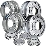 Accuride 19.5'' Polished Dual Wheel Package fits Ford F450 & F550 (2005 - current)
