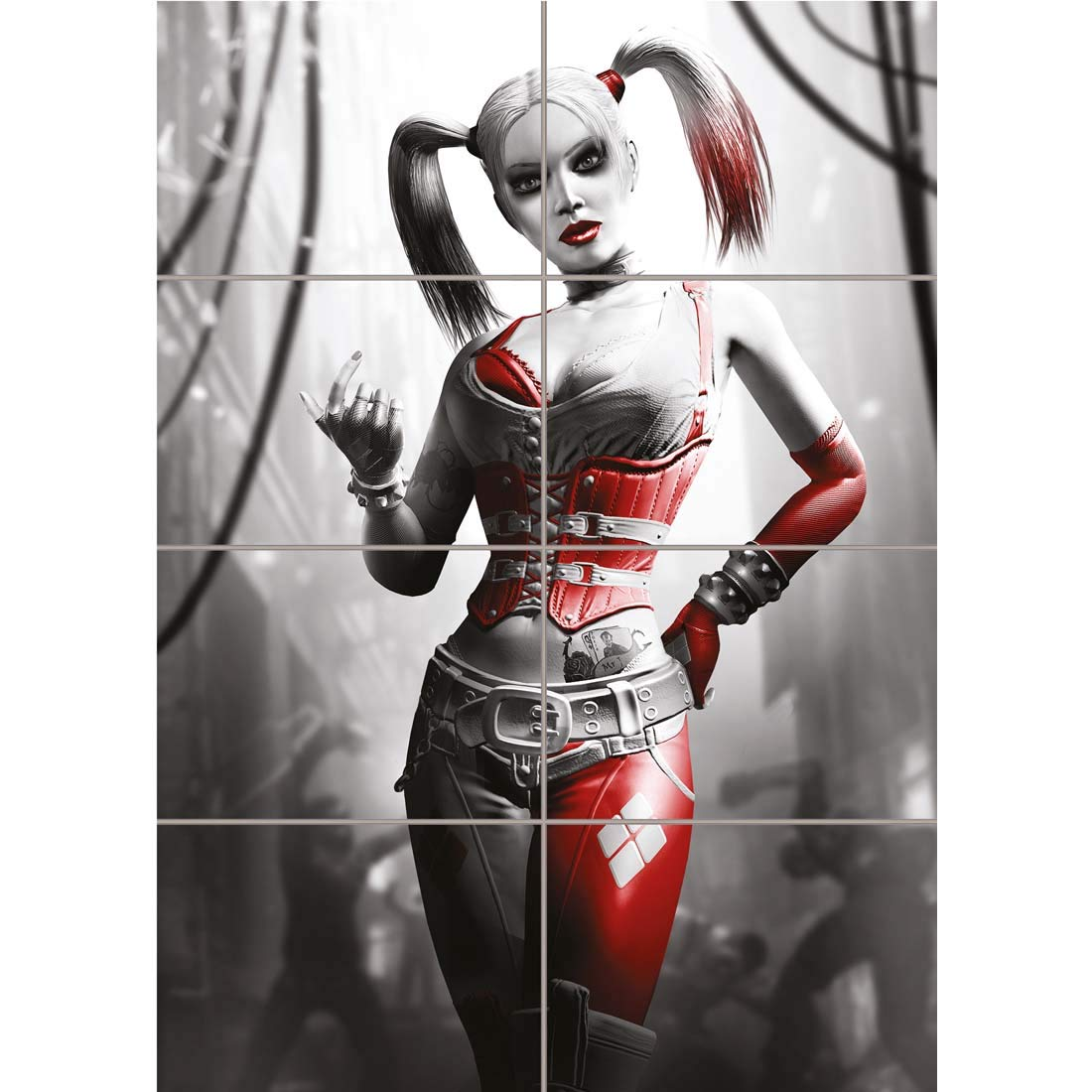 Doppelganger33 LTD Harley Quinn Batman Arkham City New Giant Wall Art Print Picture Poster OZ251