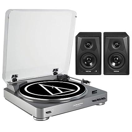 Amazon.com: Audio-Technica AT-LP60-USB - Mesa giratoria ...