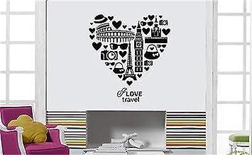 stickers muraux salle de bain zen Inspire Message I Love ...