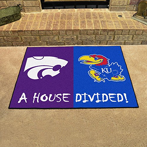Kansas - K-State House Divided Rugs 34