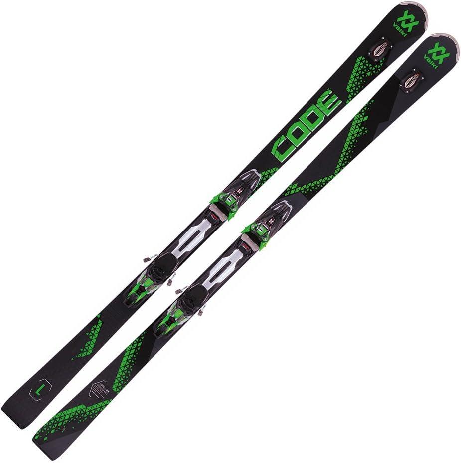 2018 VolklコードSpeedwall L UVO Skis with rMotion 12.0バインディング