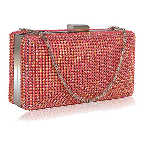 Clutch Pink Evening Pink UK Clutch UK DELIVERY Gorgeous FREE FREE Gorgeous Evening x4AwWgBOq