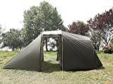 3-Season-Waterproof-Motorcycle-Tent-for-Storage-with-Extra-Sleeping-Space-for-2-Person-4-Entrance-and-Large-Garage-Area