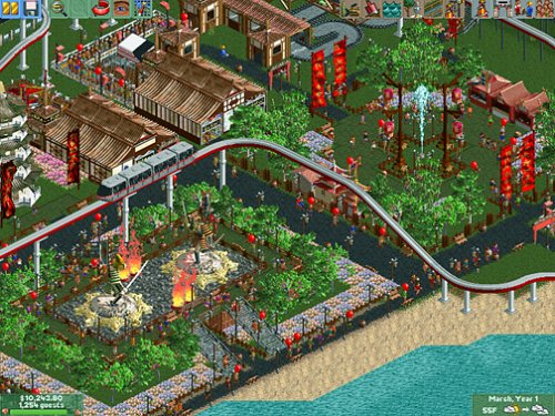 Rollercoaster Tycoon 2: Wacky Worlds Expansion Pack: Pc