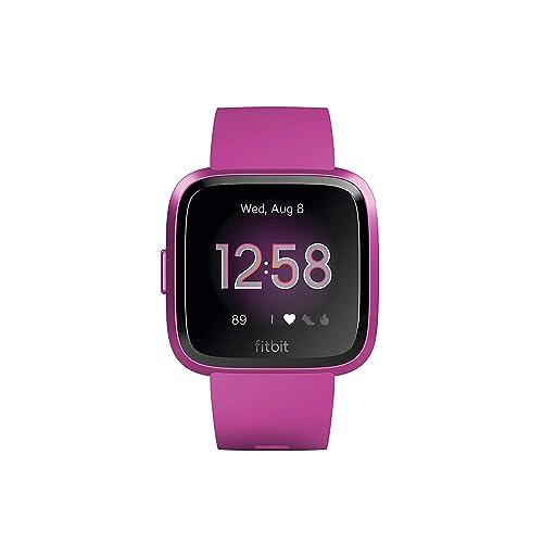 Fitbit Versa Lite Reloj Deportivo Smartwatch Adultos Unisex Morera Aluminio Talla única