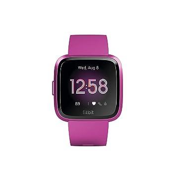 Fitbit Versa Lite - Reloj Deportivo Smartwatch, Adultos Unisex, Morera Aluminio, Talla única: Amazon.es: Deportes y aire libre