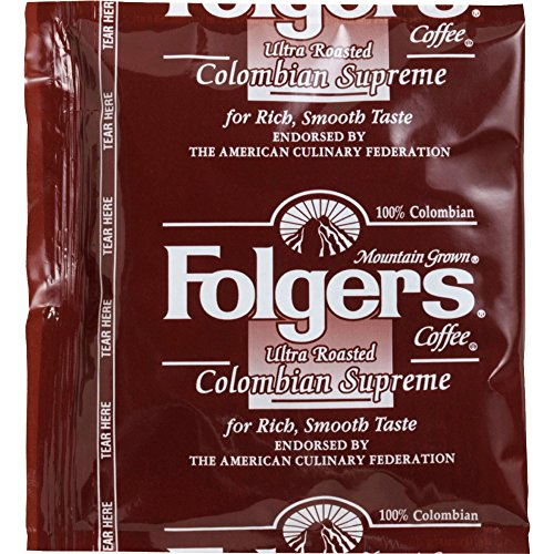 FOLGER'S Coffee Colombian Fraction, .9-Ounce Boxes (Pack of 150) by Folgers
