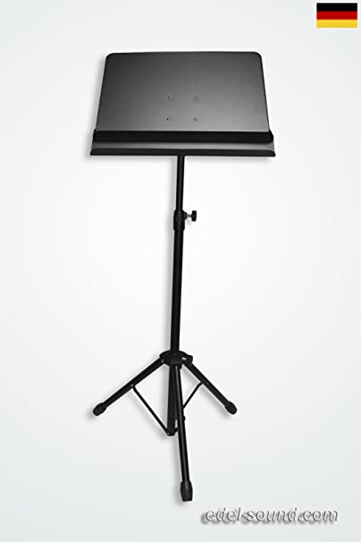 Dirigentenpult ultra mit Ablagefach metall Blechplatte Orchesterpult Notenpult