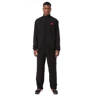 adidas - Chándal - para Hombre Negro Talla:198 cm: Amazon.es ...