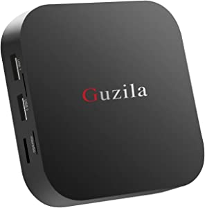 GUZILA Fanless Mini PC Intel Atom Z8350 CPU Windows 10 Pro Mini Desktop Computer 4K HD,Bluetooth 4.2,Dual Band Wi-Fi