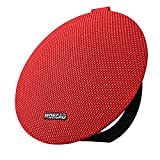 Bluetooth Speakers 4.2,Portable Wireless Speaker with 15W Super Stereo Sound,Strong Bass,Waterproof IPX5, 2500mAh Battery,MOKCAO STYLE Perfect for iPhone/Android devices,Colorful Good Gift-Red