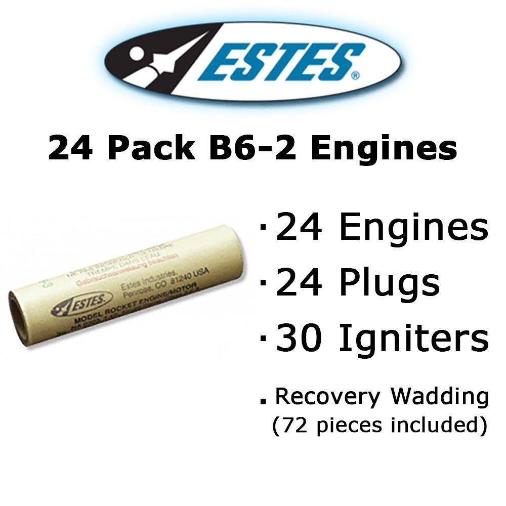 Estes B6-2 Model Rocket Engines (24 pack)
