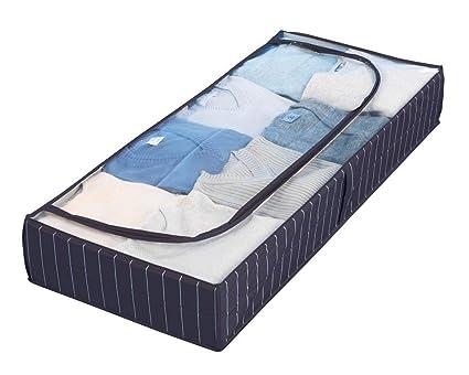 Wenko 4380440100 Comfort - Cajón de almacenaje para debajo de la cama, tejido de plástico