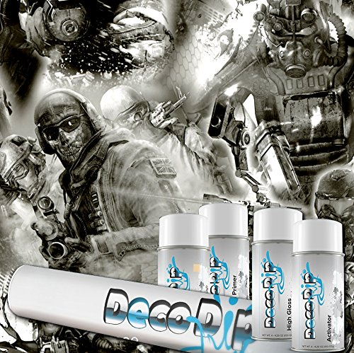 Hydrographics Film Kit - Hydro Dipping - Deco Dip Kit - Team Apocalypse - DD-747 - Water Transfer Printing