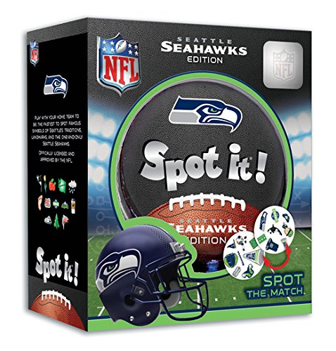 MasterPieces NFL Seattle Seahawks Spot (Car Football Games)